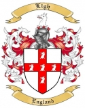 Ligh Family Crest from England2