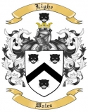 Lighe Family Coat of Arms from Wales