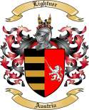Lightner Family Crest from Austria