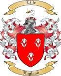 Lilie Family Crest from England