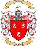 Lilley Family Coat of Arms from England