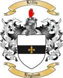 Lillie Family Coat of Arms from England