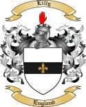Lilly Family Coat of Arms from England