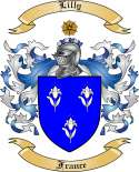 Lilly Family Coat of Arms from France