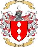 Limms Family Crest from England