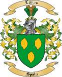 Limos Family Coat of Arms from Spain