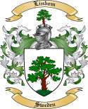 Linbom Family Crest from Sweden