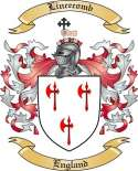 Lincecomb Family Crest from England