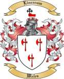 Lincecum Family Coat of Arms from Wales