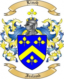 Linch Family Coat of Arms from Ireland
