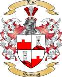Lind Family Crest from Germany2