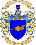 Lind Family Crest from Germany3