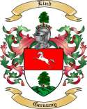 Lind Family Crest from Germany