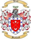 Lind Family Crest from Scotland