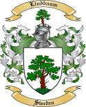 Lindbaum Family Coat of Arms from Sweden