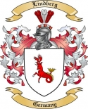 Lindberg Family Coat of Arms from Germany2