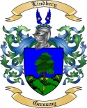 Lindberg Family Crest from Germany
