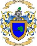 Lindblom Family Coat of Arms from Sweden