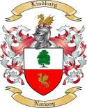 Lindburg Family Crest from Norway
