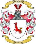 Lindburgh Family Coat of Arms from Germany2