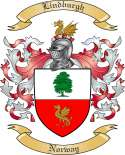 Lindburgh Family Coat of Arms from Norway