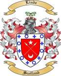 Linde Family Coat of Arms from Scotland