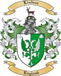 Lindear Family Crest from England