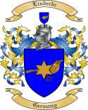 Lindecke Family Coat of Arms from Germany