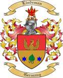 Lindeman Family Crest from Germany