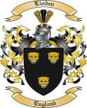 Linden Family Crest from England