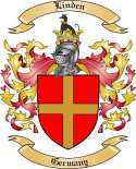 Linden Family Crest from Germany