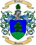 Linden Family Coat of Arms from Sweden