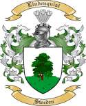 Lindenquist Family Crest from Sweden