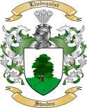Lindequist Family Crest from Sweden
