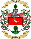 Linder Family Crest from Germany