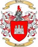 Linder Family Crest from Scotland