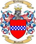 Lindesey Family Crest from Scotland