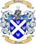 Lindeux Family Crest from France