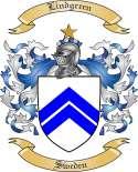 Lindgreen Family Crest from Sweden