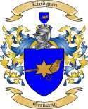 Lindgren Family Crest from Germany