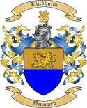 Lindholm Family Crest from Denmark