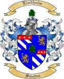 Lindholm Family Crest from Sweden