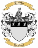 Lindlee Family Crest from England