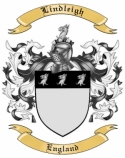 Lindleigh Family Crest from England