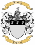Lindly Family Crest from England