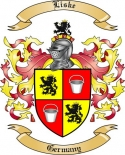 Liske Family Coat of Arms from Germany