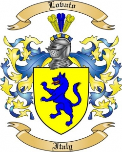 lovato family crest from italy2 by the tree maker