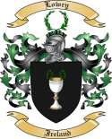 Lowry Family Crest from Ireland2