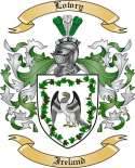 Lowry Family Crest from Ireland