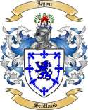 Lyon Family Coat of Arms from Scotland2